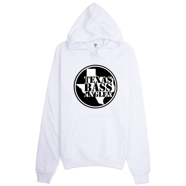 Texas bass angler hoodie texas bass angler for Bass fishing hoodies