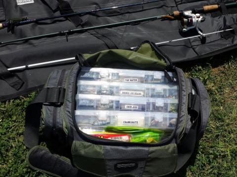 Tackle bag, Texas Bass Angler