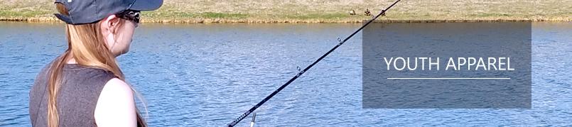 Shop Youth Fishing Apparel Texas Bass Angler Fishing Gear