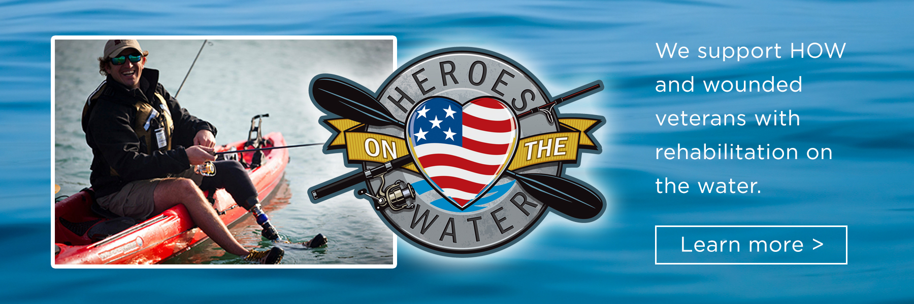 Texas Bass Angler supports Heroes on the Water