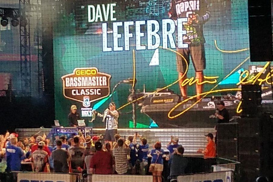 Dave Lefebre, 2017 GEICO Bassmaster Classic