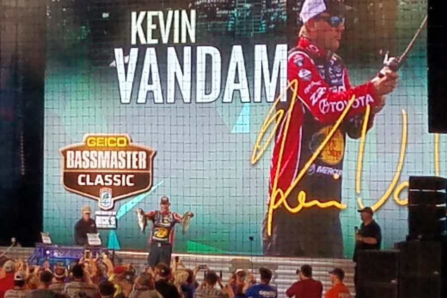 Kevin VanDam, 2017 GEICO Bassmaster Classic