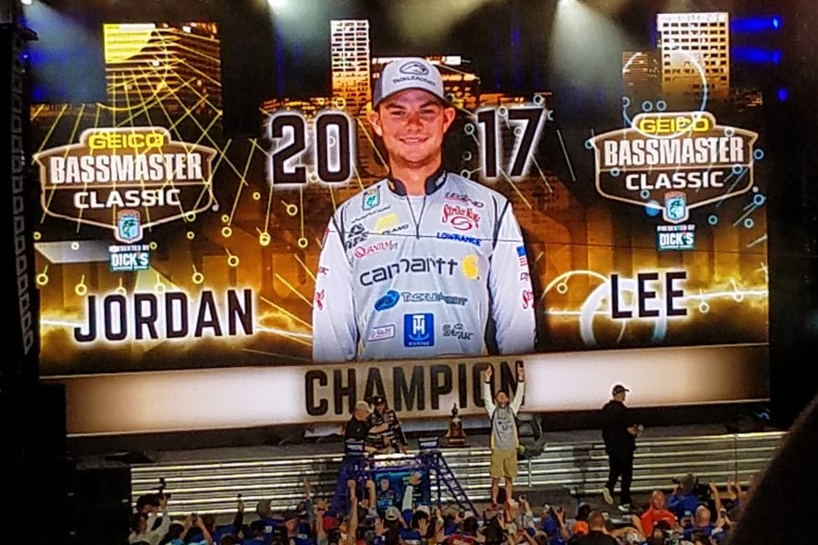 Jordan Lee wins the 2017 GEICO Bassmaster Classic