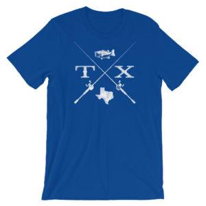 Fish Texas - Royal Blue