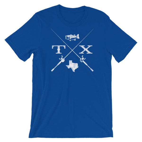 Fish Texas - Royal Blue