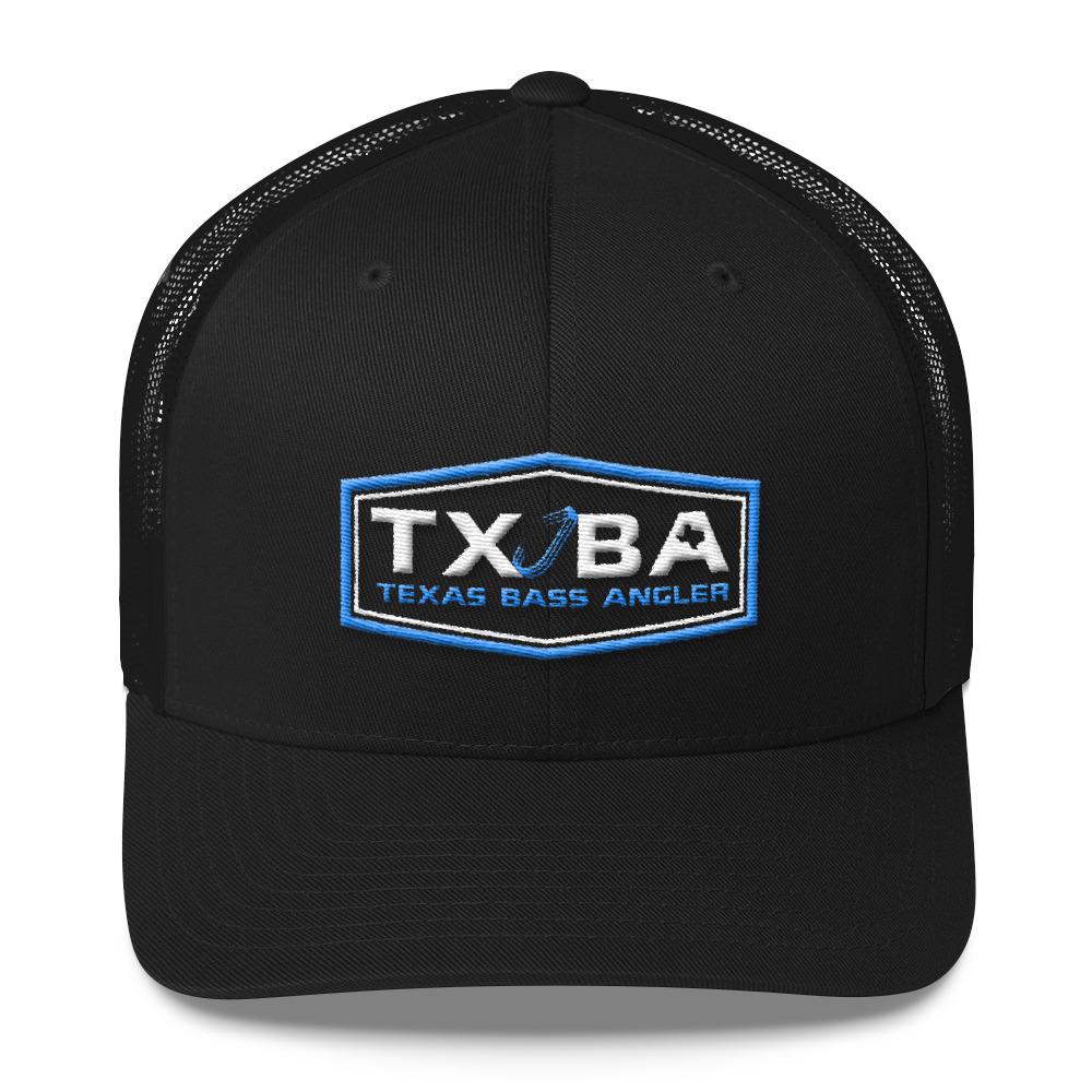 f77c8d8cecae4 TXBA Snapback Texas Fishing Hat - Aqua | Texas Bass Angler