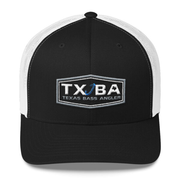 Texas Bass Angler Logo Hat - Weedless Hooks - Texas Bass Fishing Hat