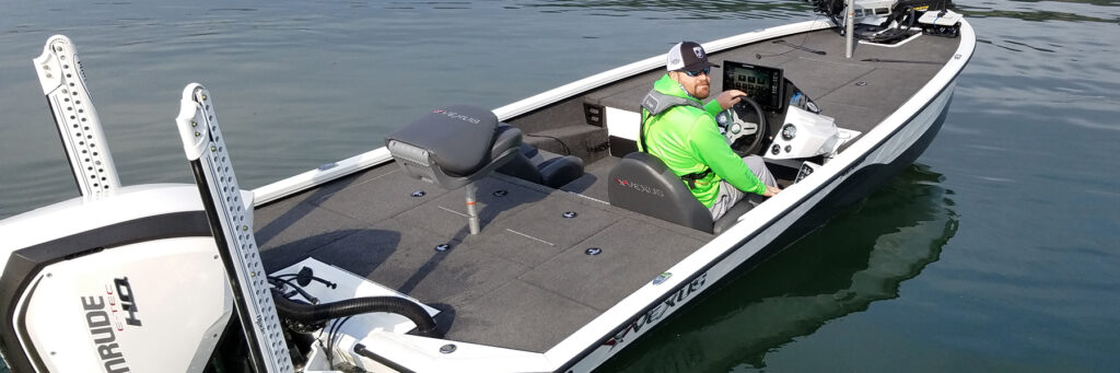 Texas bass angler - new vexus boat