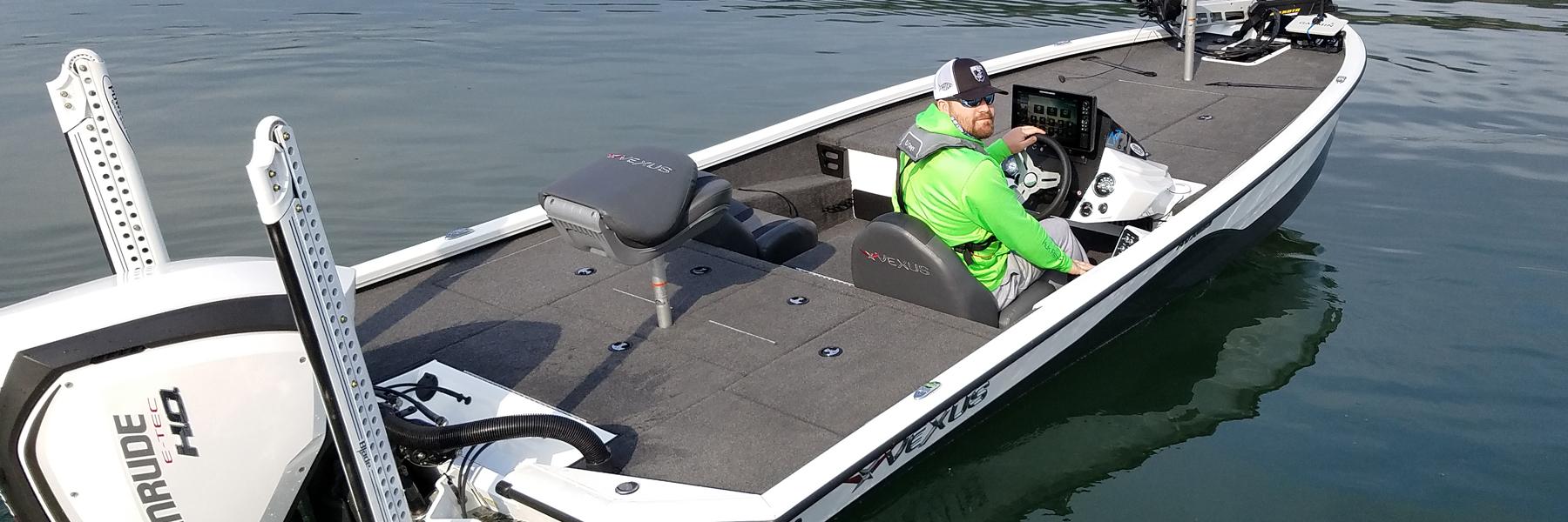 Texas bass angler - new vexus boat
