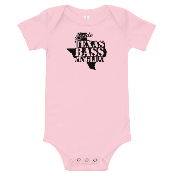 Little Texas Bass Angler Fishing Onesie - Bass Fishing Onesie - Texas Bass Fishing