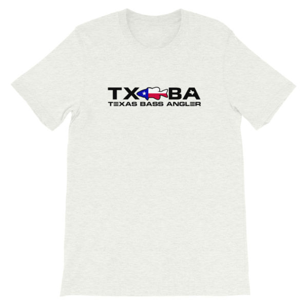Texas Bass Angler Texas Bass Fishing Logo T-Shirt