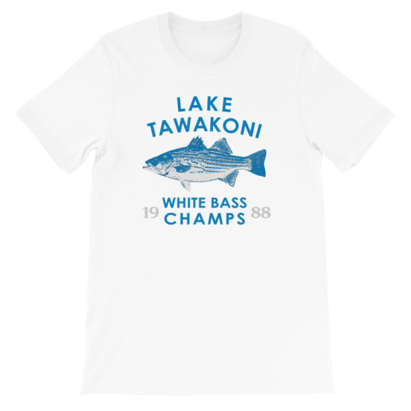 White Bass Champs - Lake Tawakoni 1988 - White | Texas Bass Angler
