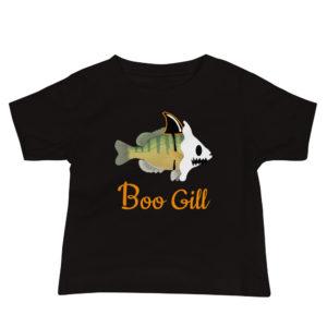 Baby Boo Gill Halloween tshirt | Texas Bass Angler