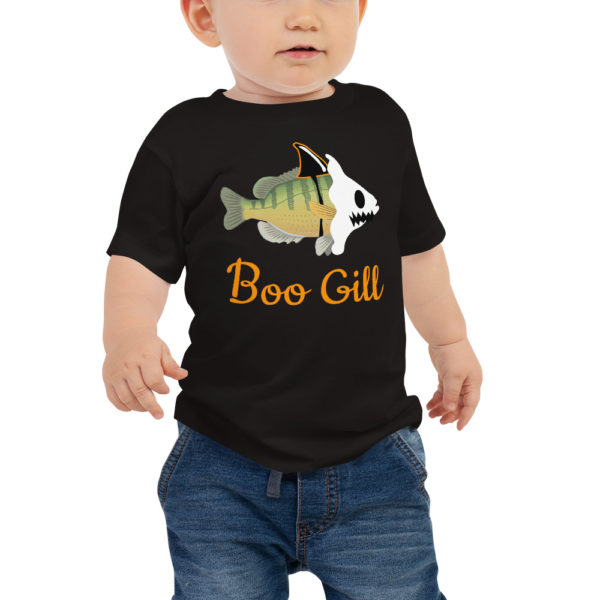 Baby Boo Gill Halloween T-shirt - Texas Bass Angler
